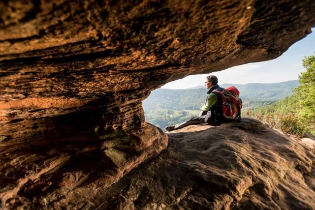 Dimbacher Buntsandstein Höhenweg - Dominik Ketz